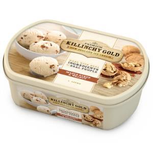 京东PLUS会员:KillinchyGold柯林高德核桃口味冰淇淋1L*2件 114元包邮(双重优惠,合57元/件)