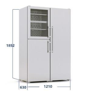 liebherr利勃海尔SBSes7165对开门冰箱699升 96800元