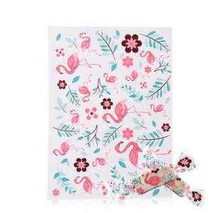 展艺烘焙包装牛轧糖糖纸奶牛糖纸防油纸手工做牛扎糖烘焙糖果纸火烈鸟100张*8件41.4元(合5.18元/件)