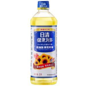日清健康利多高油酸葵花籽油1L小壶装*8件131.2元(合16.4元/件)