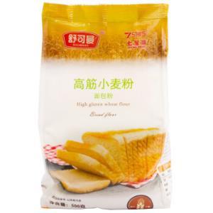 舒可曼高筋小麦粉面包粉500g*16件 55元(合3.44元/件)