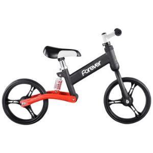永久(FOREVER)儿童平衡车3--5-6岁宝宝减震滑步车小孩玩具车小孩自行车升级版黑红色*2件450元(合225元/件)
