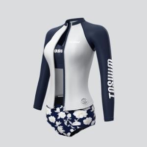 20日:TOSWIM拓胜TS81120604004女款泳衣三件套 259元