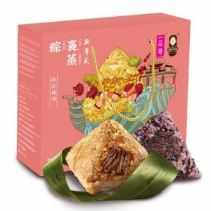 一品粤岭南情谊粽子礼盒1075g 19.9元包邮(需用券)