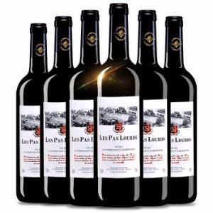 法国进口红酒拉普乐斯/埃莫多斯/洛伦森宝/特洛泽/萨利斯红葡萄酒750ml6支整箱装*2件138元(合69元/件)