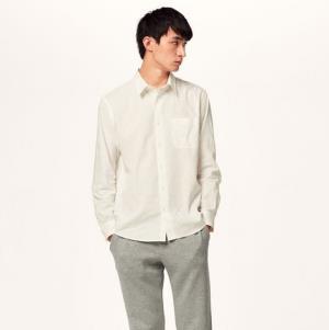 GU极优314373男士麻混纺衬衫 59元