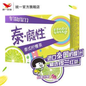 统一 泰魔性 台式柠檬茶 250ml*16盒 含真茶真柠檬  线下3.5元/盒32.9元包邮