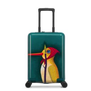 美旅行李箱飞机轮硬箱女韩版可登机18/20寸24寸箱子可爱儿童万向轮拉杆箱TH9PC+ABS外料349元