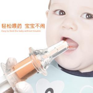婴儿喂药器防呛针筒奶嘴式喂水器*100件5.8元(需用券,合0.06元/件)