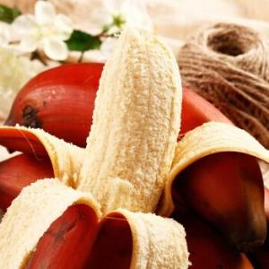 振豫红皮香蕉2500g装约15-20根 25.8元