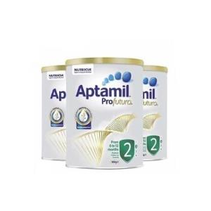 【澳洲直邮】【3罐装】Aptamil澳大利亚爱他美白金版奶粉2段6-12个月900g 534.47元包邮