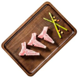 千喜鹤猪脊骨块800g精修免切带肉猪龙骨猪汤骨猪肉生鲜猪骨高汤煲汤材料*10件 163.8元(需用券,合16.38元/件)
