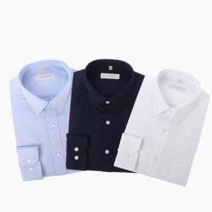 INTERIGHT男士免熨烫长袖衬衫*3件