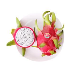 佳农越南白心火龙果6个装总重约2kg以上自营生鲜水果    24.95元