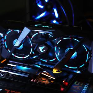 技嘉RTX2080XTREME8GAORUS/WF3OC/大雕小雕GDDR6游戏独立显卡5349元(需用券)