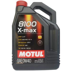 欧洲进口摩特(Motul)全合成机油8100X-MAX0W-40A3/B4SN5L/桶 282.57元