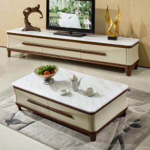 奥左茶几大理石茶几电视柜组合套装客厅家具AC5211.3米大理石茶几2米电视柜*3件10097.97元(合3365.99元/件)