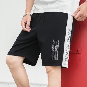 迈速狼日系夏装青少年短裤男韩版白条运动五分裤短裤*3件127元(合42.33元/件)