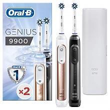 神價格499元/支頂級旗艦!Oral-B 歐樂B Genius 9900 雙柄 充電電動牙刷Prime直郵到手998元