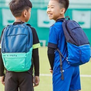 迪卡侬双肩包运动背包男女健身包书包儿童学生户外旅行包KIPSTA 19.9元