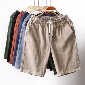 BOOXCOCK休闲大码棉质男士中裤休闲裤男士五分裤*4件136元(合34元/件)