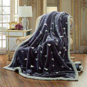 南极人拉舍尔毛毯加厚保暖双层单人双人珊瑚绒毯子休闲毯秋冬季毯79元(需用券)
