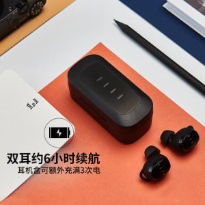 京东新品FIILT1(曜石黑)蓝牙入耳式耳机专享优惠券领券满200-20元