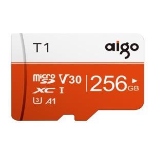 爱国者(aigo)256GBTF(MicroSD)存储卡T1高速版读速97MB/s 138.42元