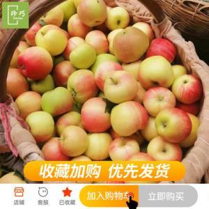 陕西嘎啦苹果新鲜水果带箱5斤包邮红富士苹果当季整箱吃的生鲜10*2件26.81元(需用券,合13.41元/件)