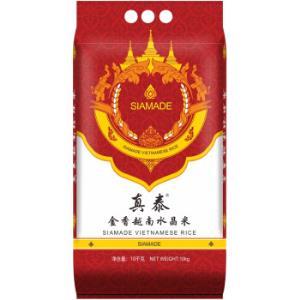 真泰越南珍珠米10KG(GFSI认可)(圆粒大米20斤粳米粥米)*4件149.33元(合37.33元/件)