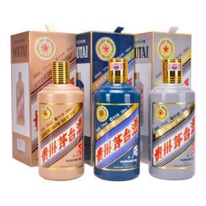 茅台生肖(猴年+鸡年+狗年)酱香型白酒53度500ml*3组合装 11111元