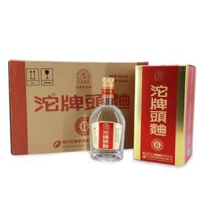 沱牌舍得沱牌头曲整箱装白酒50度500ml*6瓶浓香型 288元