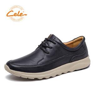 cele策乐M3B2B16507D男款休闲皮鞋 88元包邮(需用券)