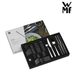 WMF德国福腾宝不锈钢西餐餐具30件套蛋糕叉餐叉餐刀茶匙汤勺套装组合Palma不锈钢色*3件 2714.79元(合904.93元/件)
