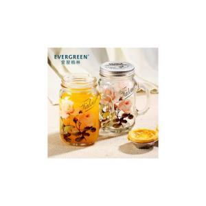 爱屋格林带盖创意玻璃水杯公鸡杯梅森杯子啤酒杯玻璃杯800ML 29.9元