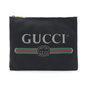Gucci古驰LOGO印花手拿包中号 5927.05元包邮(需用券)