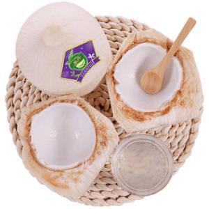 6个装泰国进口椰青单果700g-900g赠送开椰器和吸管新鲜水果泰国椰子 59.9元