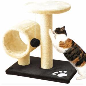 宠物玩具猫爬架剑麻猫玩具猫抓板PET-4底板黑色