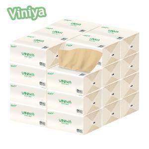 viniya本色抽纸加厚竹浆卫生纸10包  券后6.9元