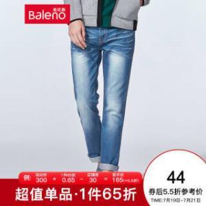 Baleno 班尼路 38541010 男士牛仔裤  44元