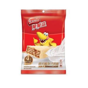 雀巢脆脆鲨威化牛奶味4条*20G赠品搭配商品请勿购买 1元