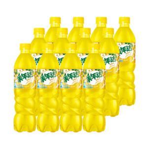 美年达Mirinda香蕉味汽水碳酸饮料500/600ml*12瓶百事可乐出品 25.96元