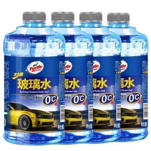 TurtleWax龟牌大力橙0℃汽车玻璃水1.8L*4瓶 24.9元(合6.23元/件)