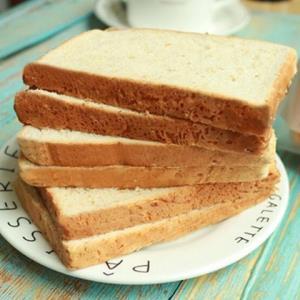 康泉全麦吐司面包1000g约20袋/40片 14.8元