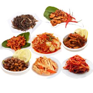 韩帝园朝鲜拌菜袋装下饭菜16袋组合 138元