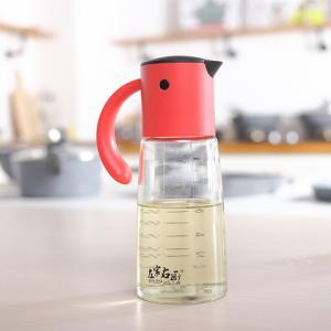左家右厨玻璃防漏开合油壶厨房油瓶酱油瓶醋瓶油罐鸟嘴型方便油壶    29元