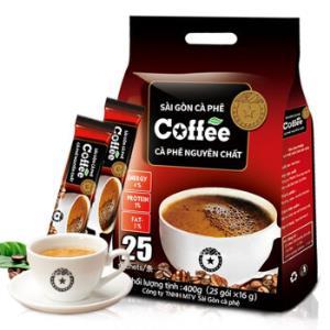 越南进口正品西贡咖啡原味速溶3合1咖啡400g*2件 35.6元(合17.8元/件)