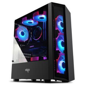 新品首降:爱国者(aigo)音浪黑色台式机电脑机箱 139元