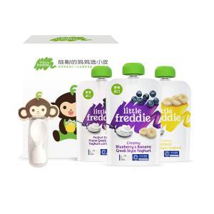 小皮欧洲原装进口酸奶果泥3只装组合装宝宝婴儿辅食零食吸吸袋 *2件  98.61元(合49.31元/件)