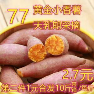 小香薯很甜2019年7月现摘带箱10斤 13.5元
